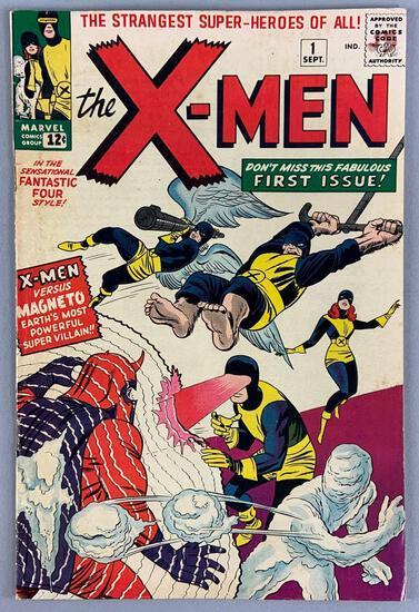 Marvel Comics X-Men No. 1 Comic Book