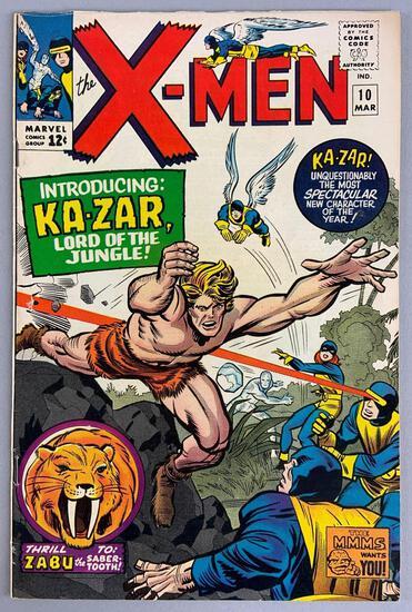 Marvel Comics X-Men No. 10 Comic Book