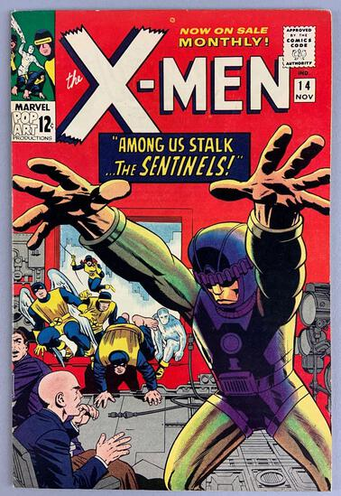 Marvel Comics X-Men No. 14 Comic Book