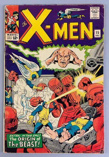 Marvel Comics X-Men No. 15 Comic Book