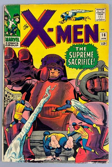 Marvel Comics X-Men No. 16 Comic Book
