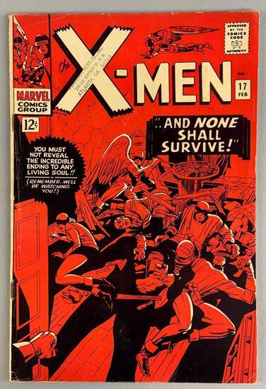 Marvel Comics X-Men No. 17 Comic Book