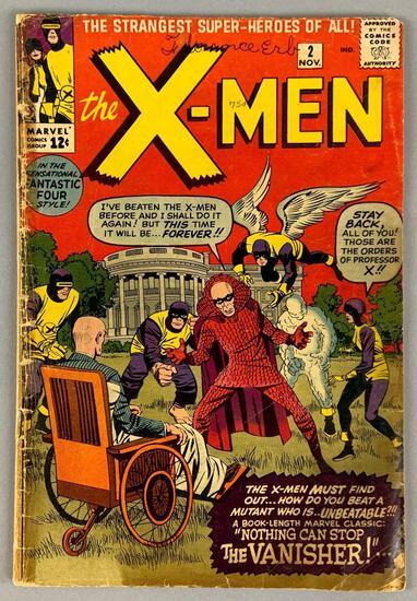 Marvel Comics X-Men No. 2 Comic Book