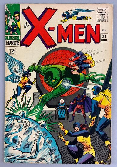 Marvel Comics X-Men No. 21 Comic Book