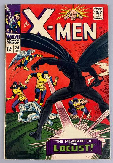 Marvel Comics X-Men No. 24 Comic Book