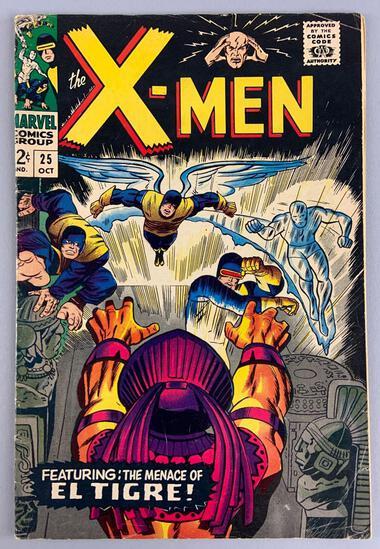 Marvel Comics X-Men No. 25 Comic Book
