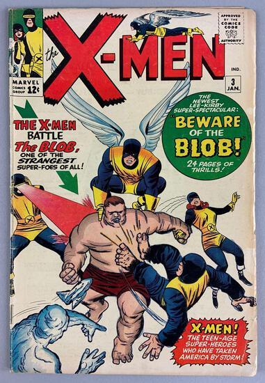 Marvel Comics X-Men No. 3 Comic Book