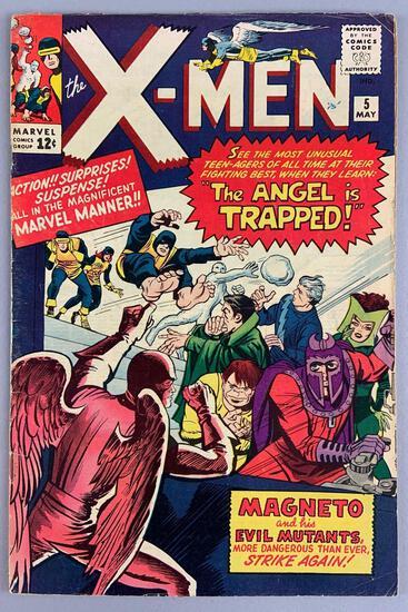 Marvel Comics X-Men No. 5 Comic Book