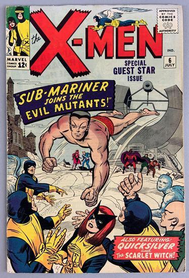 Marvel Comics X-Men No. 6 Comic Book