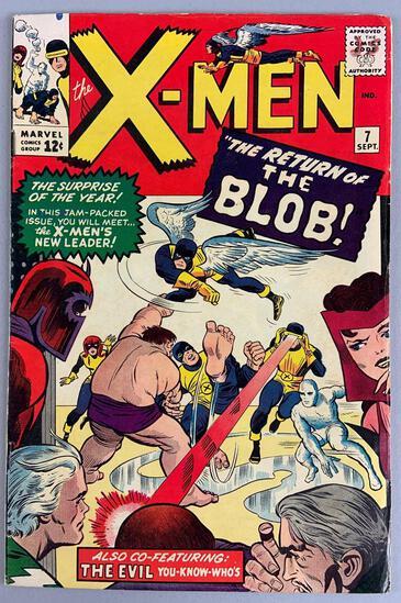 Marvel Comics X-Men No. 7 Comic Book