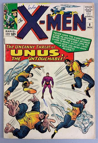 Marvel Comics X-Men No. 8 Comic Book