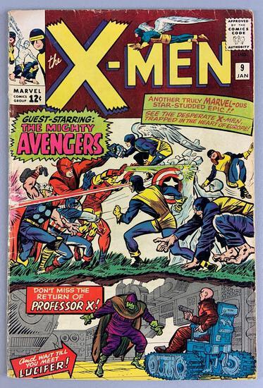 Marvel Comics X-Men No. 9 Comic Book