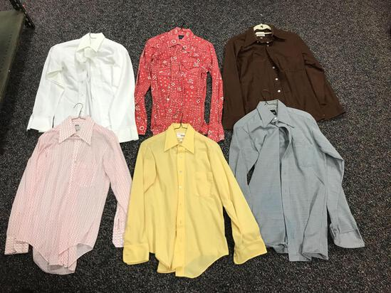 Group of 6 Vintage long Sleeve Clothing