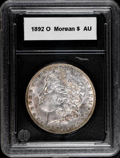 1892 O Morgan Silver Dollar.