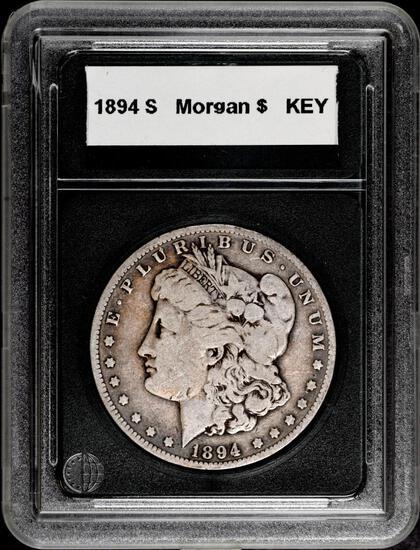 1894 S Morgan Silver Dollar.