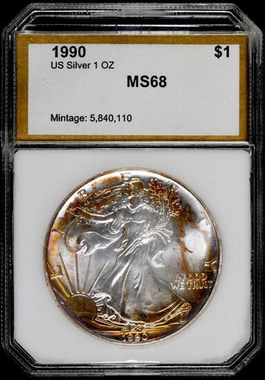 1990 P American Silver Eagle 1oz.