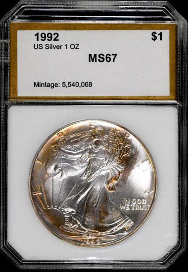 1992 P American Silver Eagle 1oz.