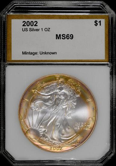 2002 P American Silver Eagle 1oz.