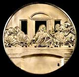 Franklin Mint Greatest Masterpiece Solid Sterling Silver / 24K Gold Plated.