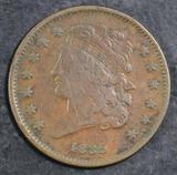 1835 Classic Head Half Cent.
