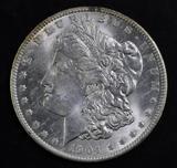 1904 O Morgan Silver Dollar.