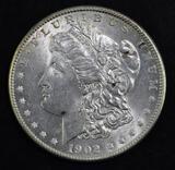 1902 O Morgan Silver Dollar.