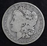 1895 O Morgan Silver Dollar.