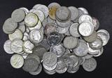 Group of (100) Roosevelt Silver Dimes.