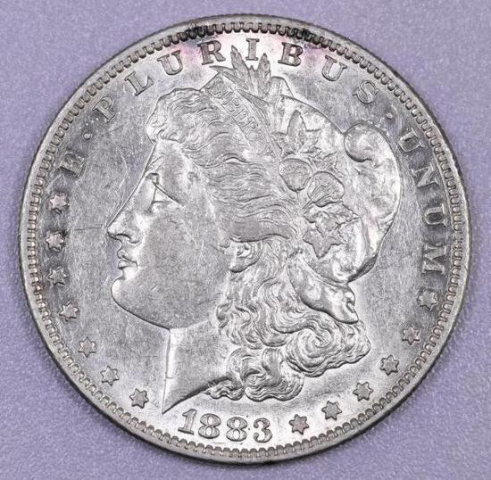 1883 S Morgan Silver Dollar.