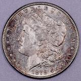 1878 S Morgan Silver Dollar.