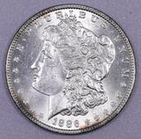 1886 P Morgan Silver Dollar.
