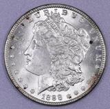 1888 O Morgan Silver Dollar.