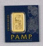 PAMP Suisse 1 Gram .9999 Fine Gold.