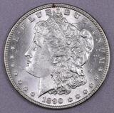 1890 P Morgan Silver Dollar.