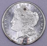 1879 S Morgan Silver Dollar.