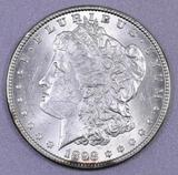 1898 P Morgan Silver Dollar.