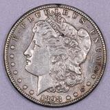 1898 S Morgan Silver Dollar.