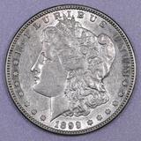 1899 S Morgan Silver Dollar.