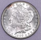 1900 P Morgan Silver Dollar.