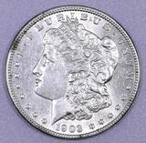 1903 P Morgan Silver Dollar.