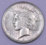 1921 P Peace Silver Dollar.