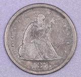 1875 S Twenty Cent Piece.