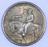 1925 Stone Mountain Commemorative Silver Half Dollar.