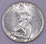 1920 D Pilgrim Commemorative Silver Half Dollar.
