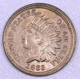 1863 CN Indian Head Cent.