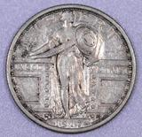 1917 S Ty.1 Standing Liberty Silver Quarter.