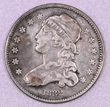 1832 Capped Bust Silver Quarter.