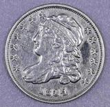 1834 Capped Bust Silver Dime.