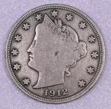 1912 S Liberty Head Nickel.