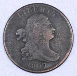 1807 Draped Bust Half Cent.